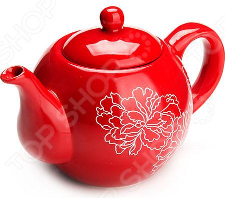 Чайник заварочный Loraine LR-25839 «Узор цветов»