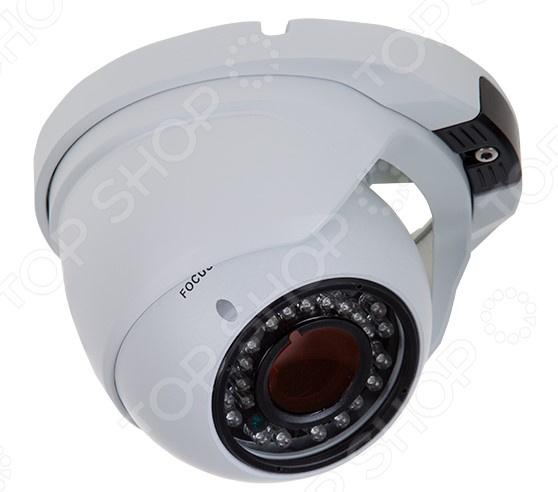 Камера видеонаблюдения купольная уличная Rexant 45-0360 rexant 45 0257 white камера видеонаблюдения