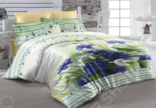 Комплект постельного белья ТамиТекс «Весенняя капель». 1,5-спальный