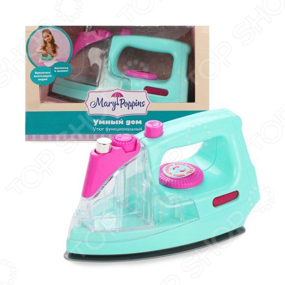 Утюг игрушечный Mary Poppins «Умный дом» тостер игрушечный mary poppins умный дом