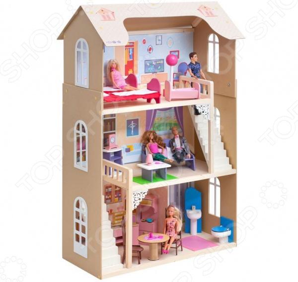 Кукольный дом с аксессуарами PAREMO «Шарм»