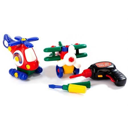 Купить Конструктор пластмассовый Bradex «Маленькая авиация»