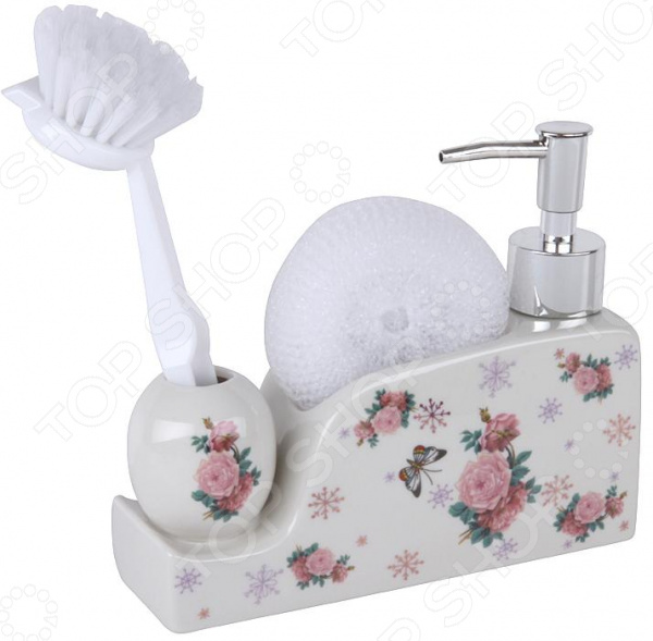 Дозатор для моющего средства Rosenberg RCE-335015 набор для ванной комнаты rosenberg rce 350004 3