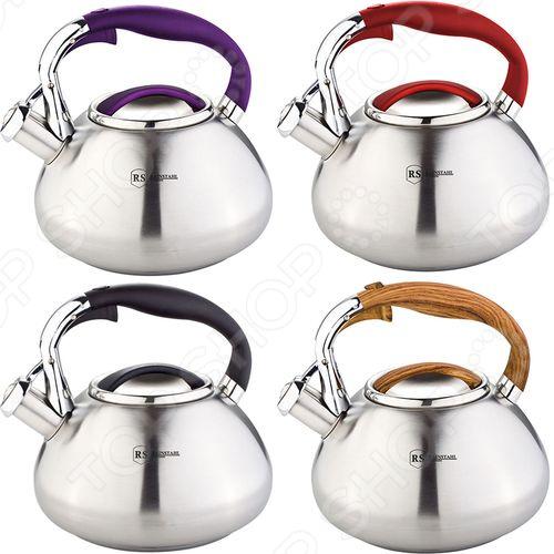 Чайник со свистком Rainstahl 7602-30RS/WK. В ассортименте чайник со свистком rainstahl 7600 27rs wk в ассортименте