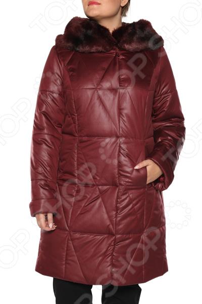 Куртка Pit.Gakoff «Феерия». Цвет: темно-бордовый