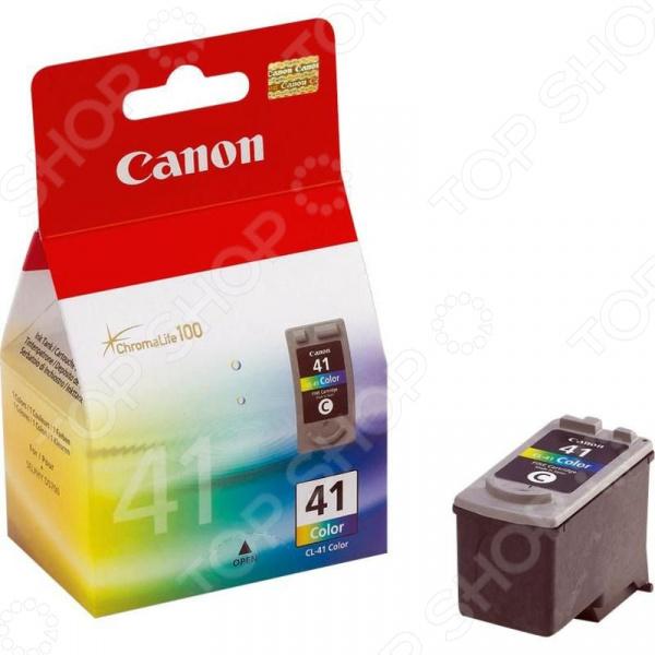 Картридж струйный Canon CL-41 картридж canon cl 41