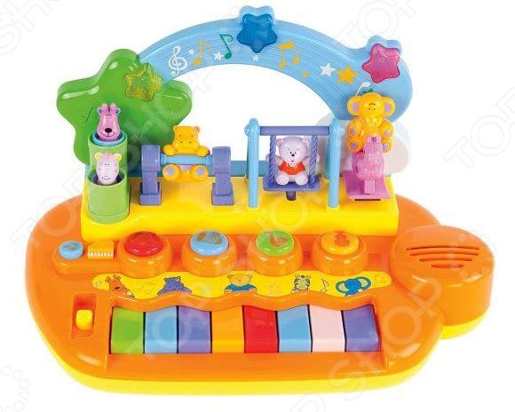 Музыкальная игрушка Жирафики «Парк развлечений» игрушка музыкальная keenway music kidz пианино
