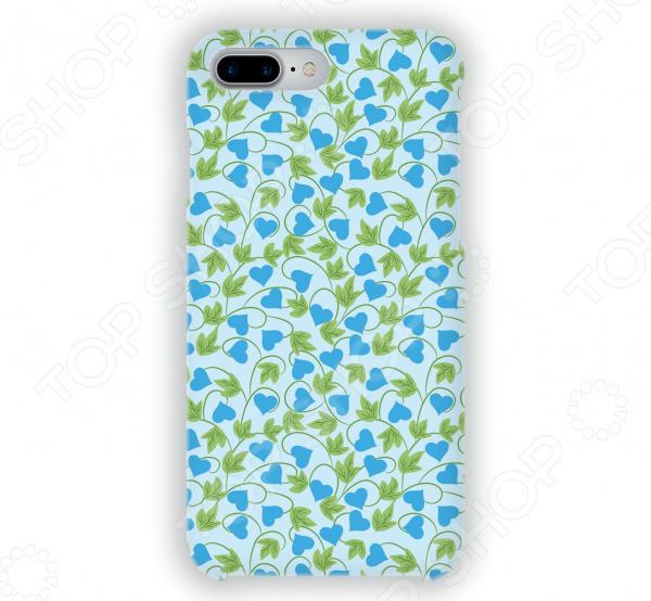 Чехол для iPhone 7 Plus Mitya Veselkov «Сердца-растения» чехол для iphone 7 plus mitya veselkov сердца растения