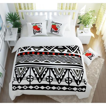 Купить Комплект постельного белья Сирень «Клубника Love»