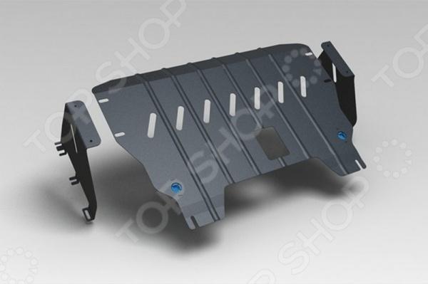 Комплект: защита картера и крепеж Novline-Autofamily KIA Picanto 2011: 1,0/1,2 бензин МКПП/АКПП комплект защита картера и крепеж novline autofamily kia soul 2009 2012 1 6 бензин дизель мкпп акпп