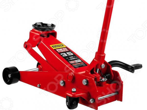 Домкрат гидравлический подкатной Stayer RED FORCE с педалью