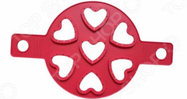 Форма для оладий Ruges «7 Сердец»