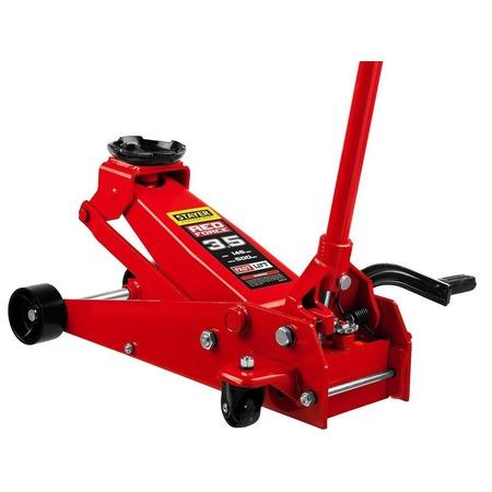 Купить Домкрат гидравлический подкатной Stayer RED FORCE с педалью