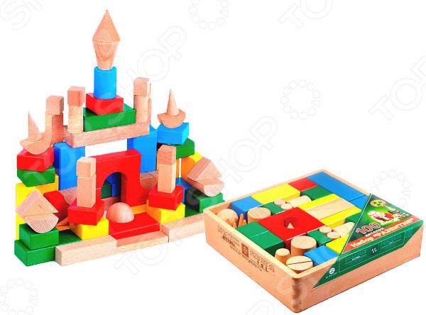 Конструктор деревянный Престиж-Игрушка КЦ2492 деревянный конструктор престиж игрушка собери свой дом с креплением 108 элементов д2108