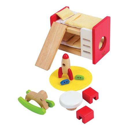 Купить Мебель для домика Hape «Детская комната»