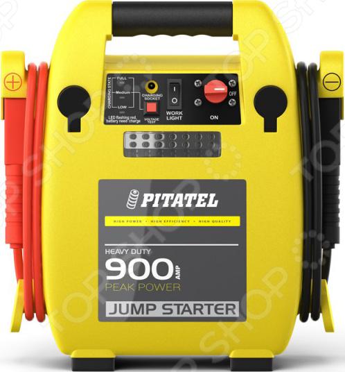 Устройство пуско-зарядное для АКБ Pitatel CJS-900 (400A/900A, 12V, 17Ah) Pitatel - артикул: 2104055