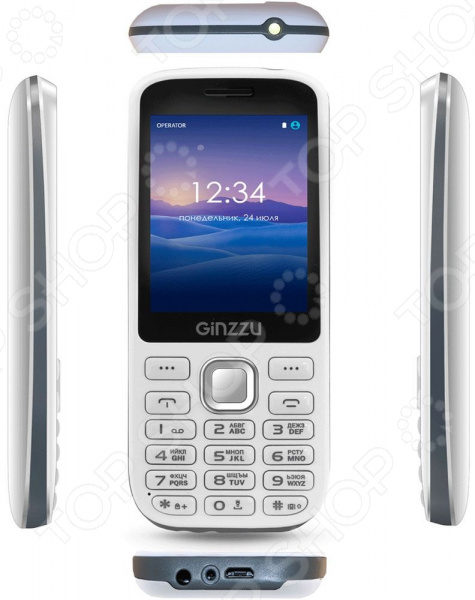 Мобильный телефон Ginzzu M201