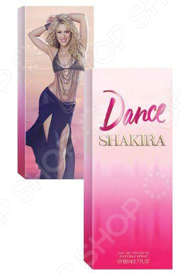 Туалетная вода для женщин Shakira Dance shakira dance diamonds туалетная вода женская 30 мл