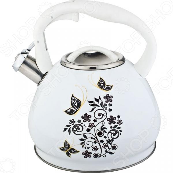 Чайник со свистком Rainstahl RS\WK-7641-30 чайник со свистком rainstahl 7600 27rs wk в ассортименте
