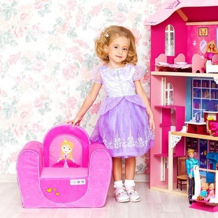 Купить Кресло детское PAREMO «Принцесса»