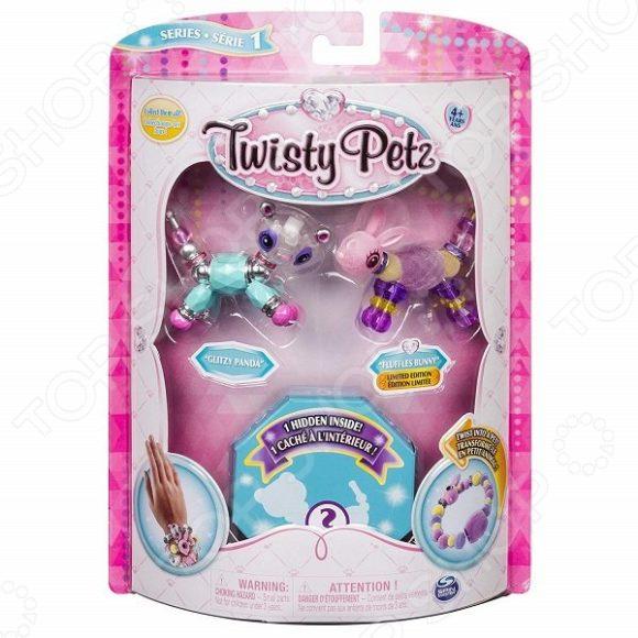 Набор для плетения браслетов Spin Master Twisy Petz 74101. В ассортименте наборы для творчества spin master набор для плетения 4 браслетов spin master twisty petz в асс