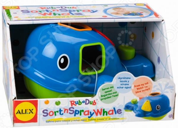 Игрушка для ванны детская Alex «Кит»
