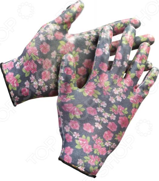 Перчатки садовые Grinda 11297 перчатки садовые grinda 11296