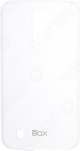 Чехол защитный skinBOX 4People Crystal для LG K10