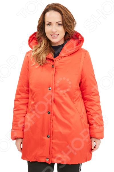 Куртка Гранд Гром «Зимняя ягода». Цвет: красный