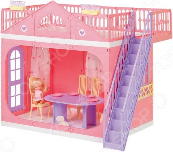 Домик кукольный Огонек «Домик Маленькой Принцессы»