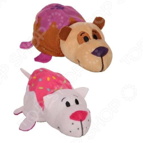 Мягкая игрушка 1 Toy «Вывернушка Ням-Ням 2в1: Панда-Кошечка». Размер: 12 см