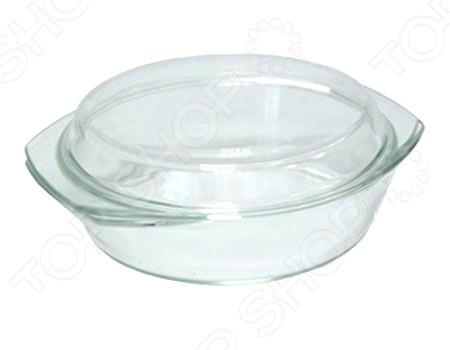 Стеклянная кастрюля с крышкой Helpina VGP K стеклянная вазочка с крышкой am0101030