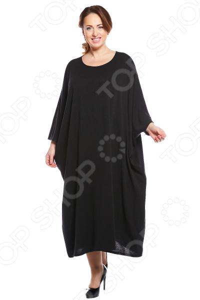 Платье Матекс «Уютная». Цвет: черный платье матекс уютная цвет синий