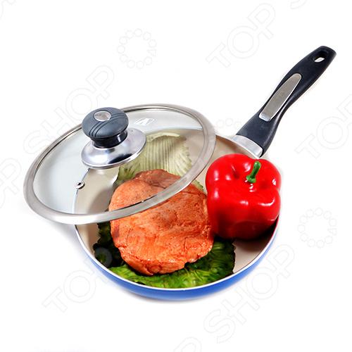 Сковорода с керамическим покрытием Vitesse VS-2200 сковорода 20 см pensofal сковорода 20 см