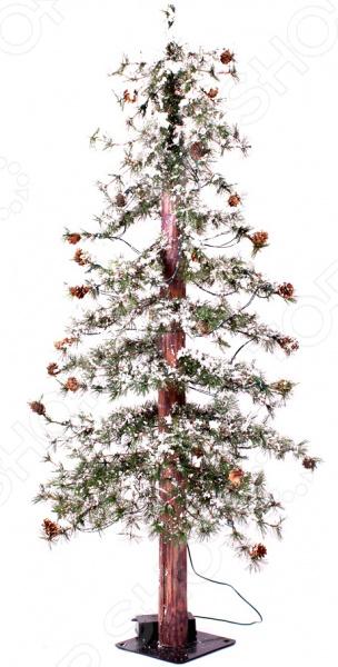 Ель искусственная Crystal Trees «Закарпатская с маленькими шишками» 1695456