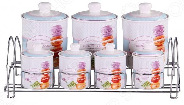 Набор банок для сыпучих продуктов Patricia IM99-5204 емкости неполимерные patricia банка 17 см шт