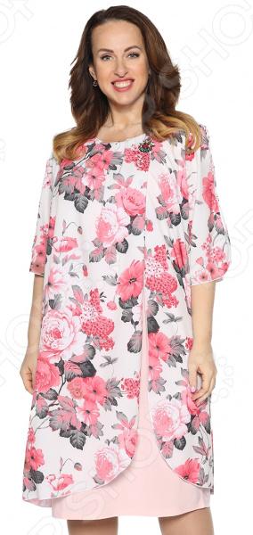 Платье Pretty Woman «Розетта». Цвет: пудровый