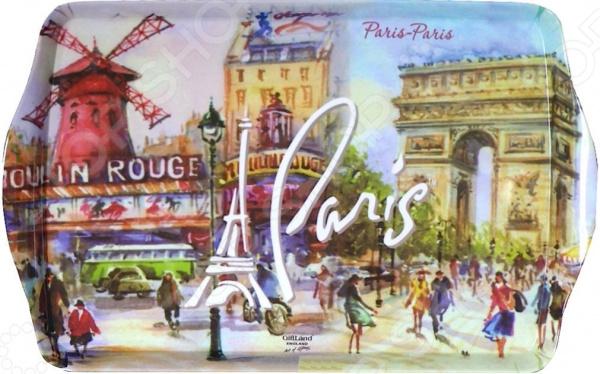 Поднос сервировочный Gift'n'home «Париж, Париж!» Gift'n'home - артикул: 1754245