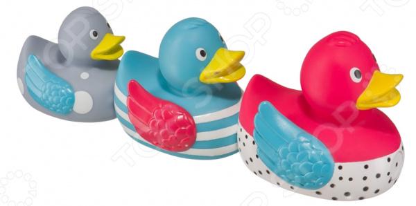 Набор детских игрушек для ванны Happy Baby Funny Ducks