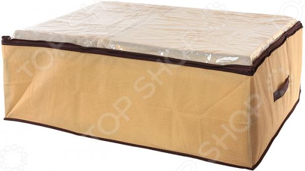 Кофр для хранения одеял и пледов EL Casa «Соты»