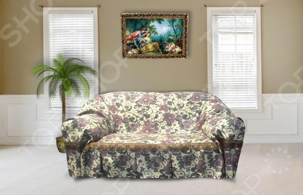 Комплект дивандек «Аленький цветочек» 1