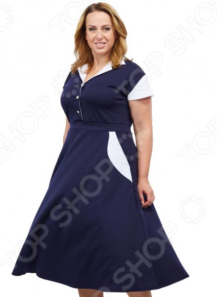 Платье Матекс «Петра». Цвет: синий платье матекс счастливая женщина цвет синий
