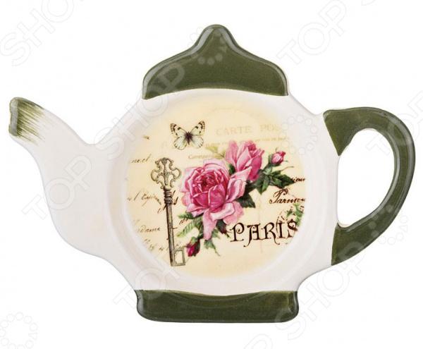 Подставка под чайные пакетики Agness «С любовью» 358-1159 подставки кухонные agness подставка под кухонные приборы с любовью