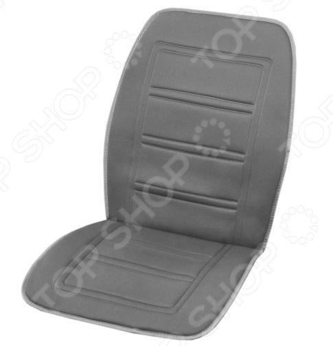 Накидка на сиденье с подогревом и терморегулятором SKYWAY Тонкие полоски будет отличным дополнением к набору аксессуаров и принадлежностей для автомобиля. Зимой, когда в салоне холодно, она будет как нельзя кстати, позволит вам быстрее согреться и расслабиться. Продуманная конструкция, универсальный размер и быстрый интенсивный нагрев уверены, такая накидка придется по вкусу любому автомобилисту!  В качестве материала изготовления используется полиэстер. Питание накидки осуществляется посредством прикуривателя, а наличие терморегулятора позволяет выбрать наиболее оптимальную температуру подогрева. Особенности и преимущества  Эргономичная конструкция обеспечит вам удобство и комфорт во время вождения.  Усовершенствованный нагревательный элемент обеспечивает быстрый и интенсивный нагрев сидения.  2 режима работы встроенный терморегулятор позволяет подобрать наиболее комфортную температуру подогрева.