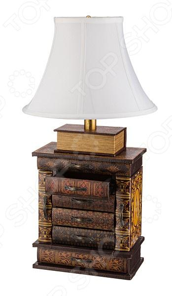 Лампа настольная Lefard 184-017 настольная лампа белый абажур для гостиной домашние украшения для гостиной настольные лампы для спальни ночники