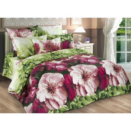 Купить Комплект постельного белья Диана «Весенние цветы». Евро