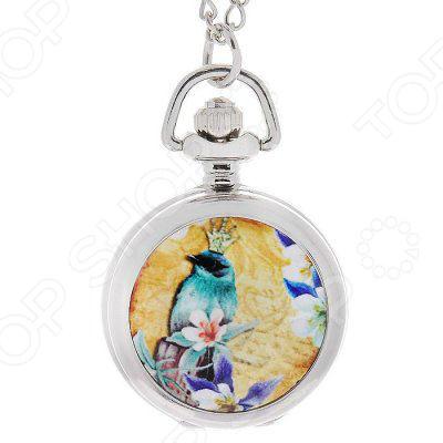 Кулон-часы Mitya Veselkov «Райская бирюзовая птица» mitya veselkov кулон часы дама с камелиями