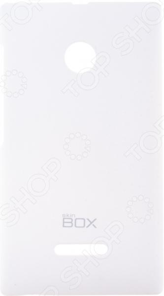 Чехол защитный skinBOX Microsoft Lumia 435/Lumia 532 чехол защитный skinbox microsoft lumia 430