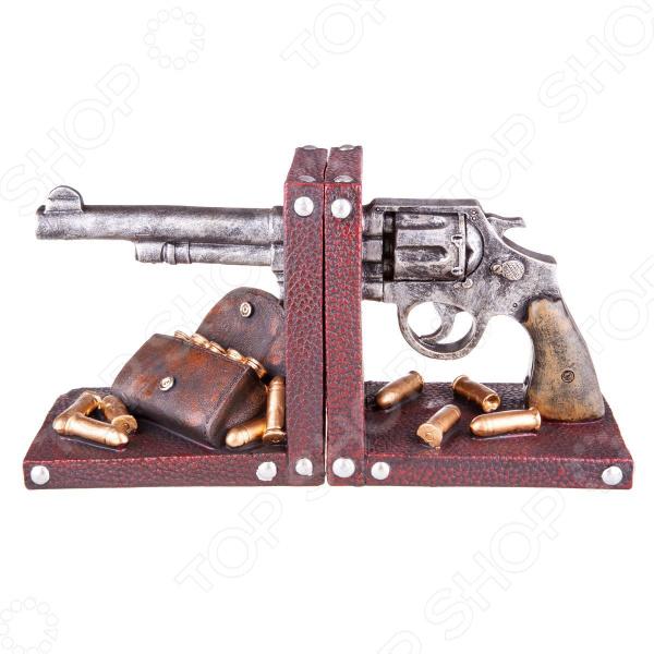 Набор дежателей для книг Miolla «Револьвер» в москве травматический револьвер таурус