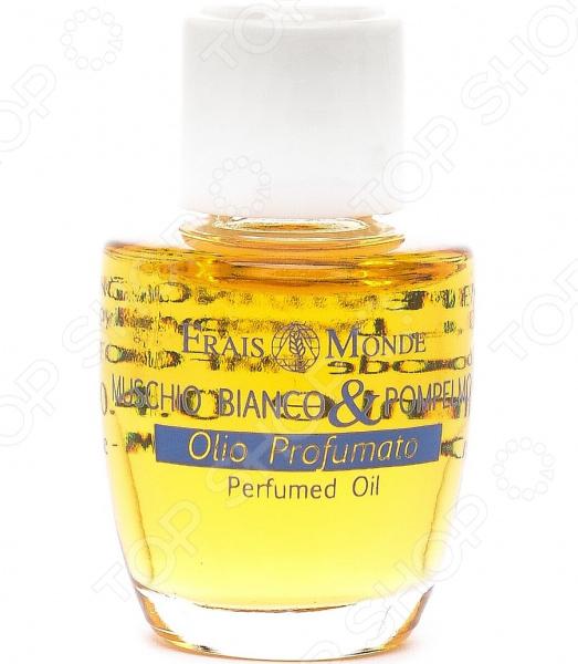 Масло парфюмерное Frais Monde «Белый мускус и грейпфрут», 12 мл недорого